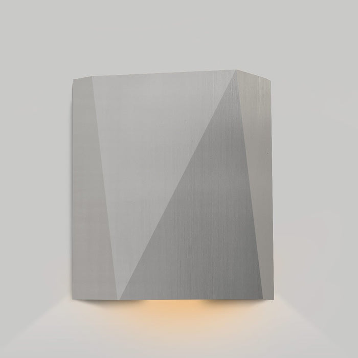 Calx Downlight Outdoor LED Wall Sconce - Marine Grade Brushed Stainless Steel Finish
