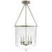 Cambridge Large Smoke Bell Pendant - Butler's Silver
