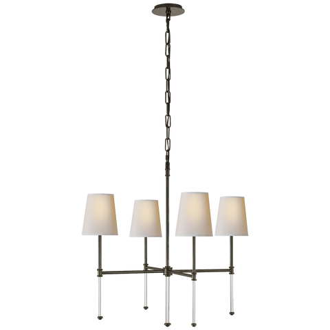 Camille Small Chandelier Bronze