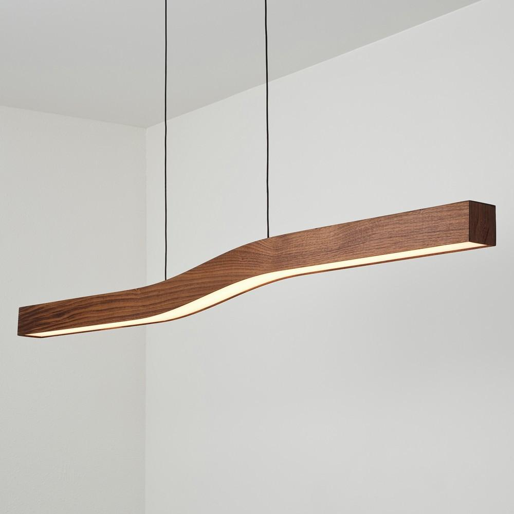 Cerno · camur led linear pendant light
