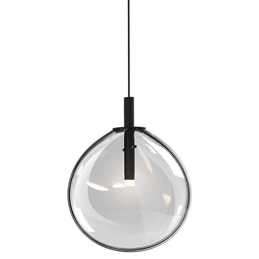 Cantina Small LED Pendant - Clear Glass