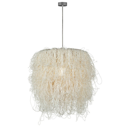 Caos Large Pendant Light - White