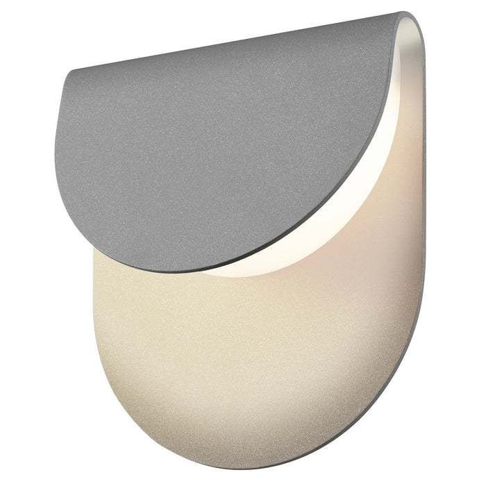 Cape Outdoor LED Wall Sconce - Textured Gray