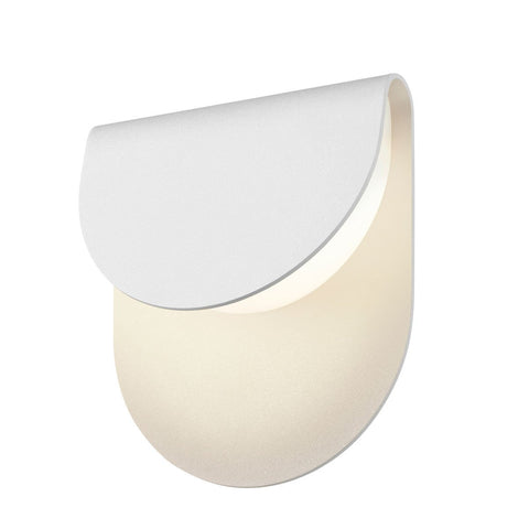 Cape Outdoor LED Wall Sconce - White
