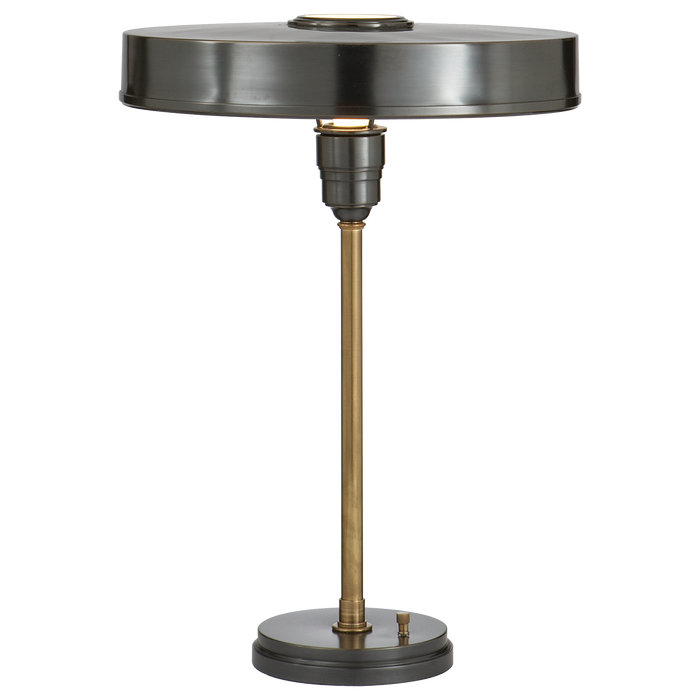 Carlo Table Lamp - Bronze With Antique Brass