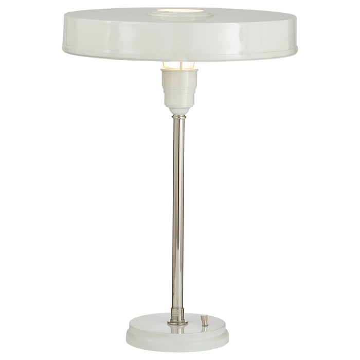 Carlo Table Lamp - Antique White