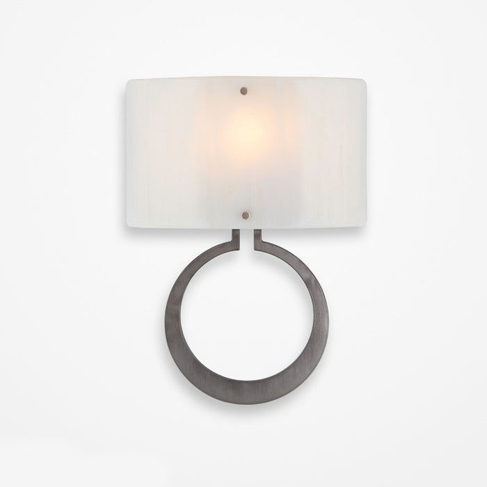 Carlyle Circlet Glass Wall Sconce