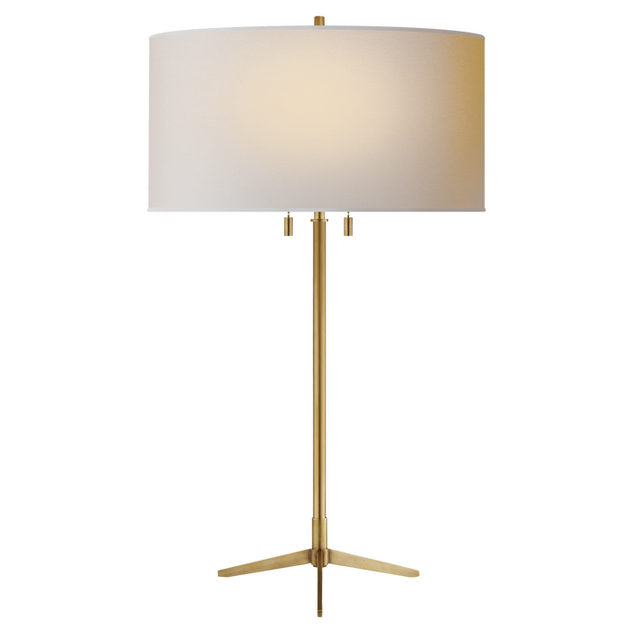Caron Table Lamp - Hand-Rubbed Antique Brass