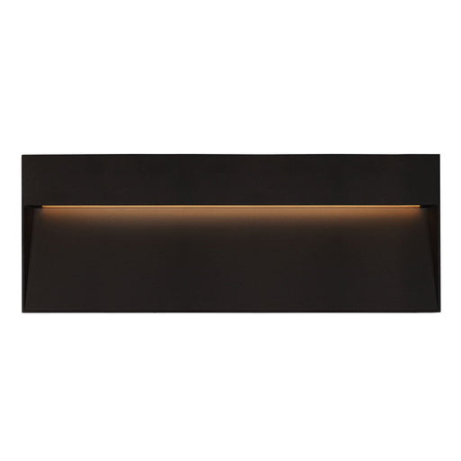 Casa Rectangular LED Outdoor Step/Wall Light - Black Finish