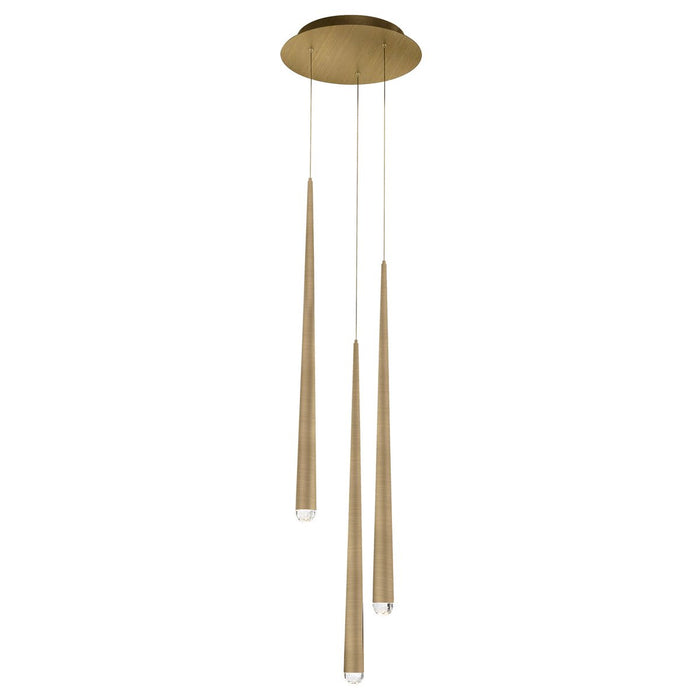 Cascade LED Round Chandelier