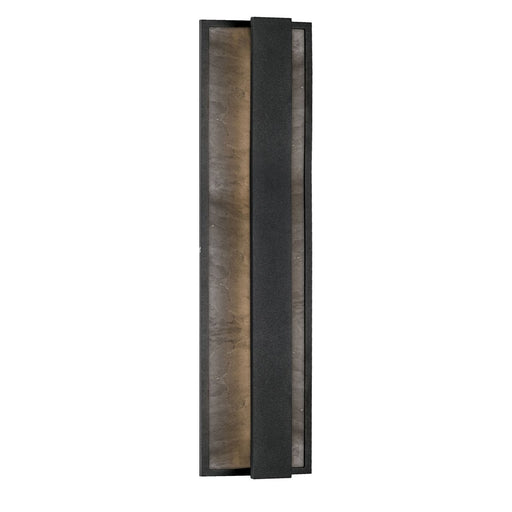 Caspian Large LED Outdoor Wall Sconce - Black Finish