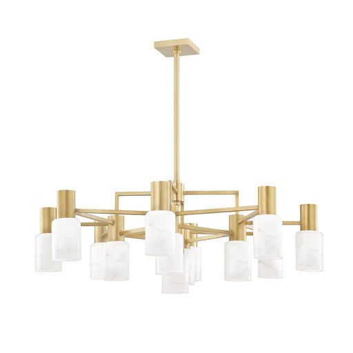 Centerport Chandelier - Aged Brass Finish
