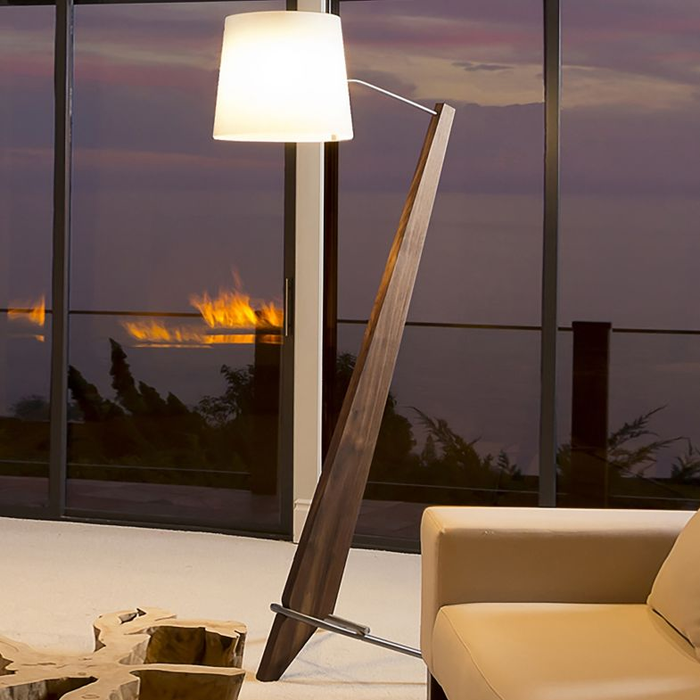 Silva Giant LED Floor Lamp - Display