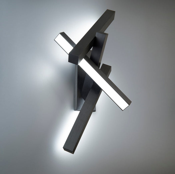 Chaos LED Wall Sconce - Display