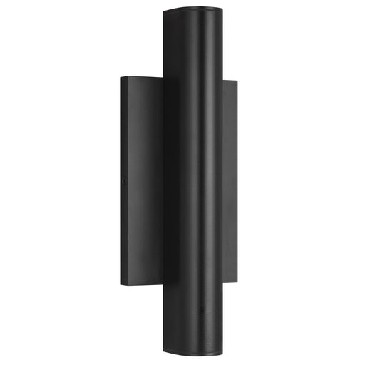 Chara Small Outdoor Wall Sconce - Black Finish