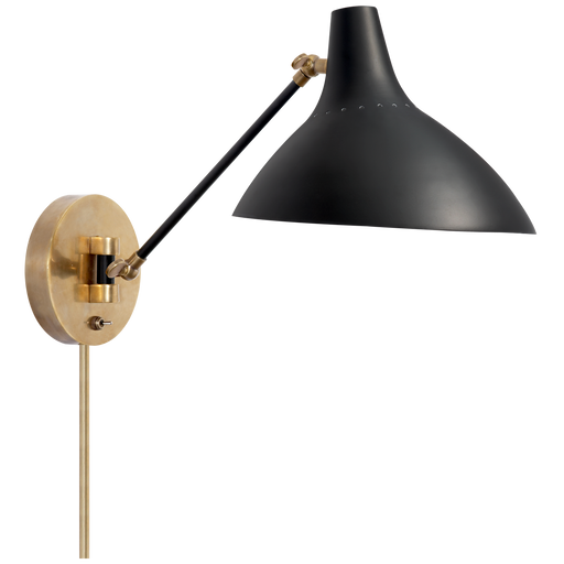 Charlton Wall Light - Black Finish