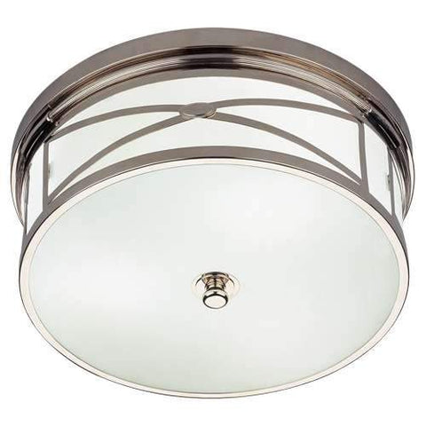 Chase Flush Mount - Polished Nickel