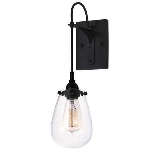 Chelsea Wall Sconce - Satin Black
