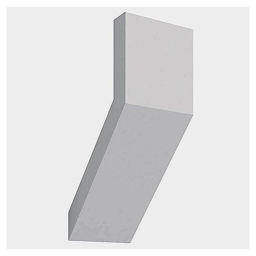 Chilone Outdoor LED Wall Light - White