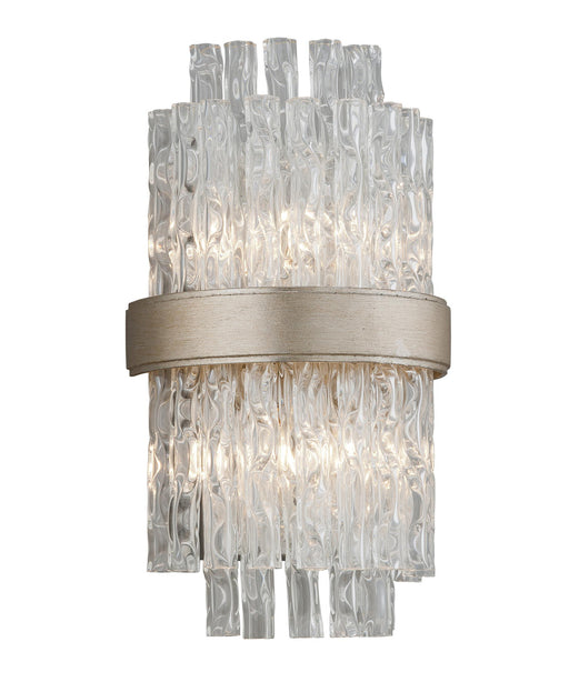 CHIME WALL SCONCE - Silver Leaf Finish