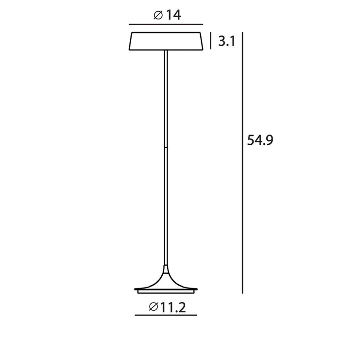China LED Floor Lamp - Diagram
