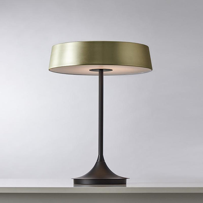 China LED Table Lamp - Matte Brass Finish