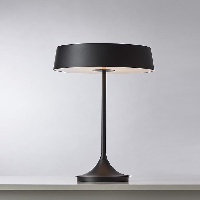 China LED Table Lamp - Matte Black Shade