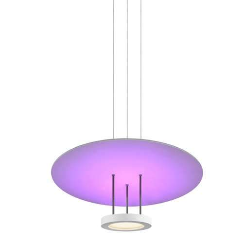 Chromaglo Spectrum Round Reflector LED Pendant Light