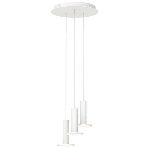 Cielo 3-Light Chandelier - White