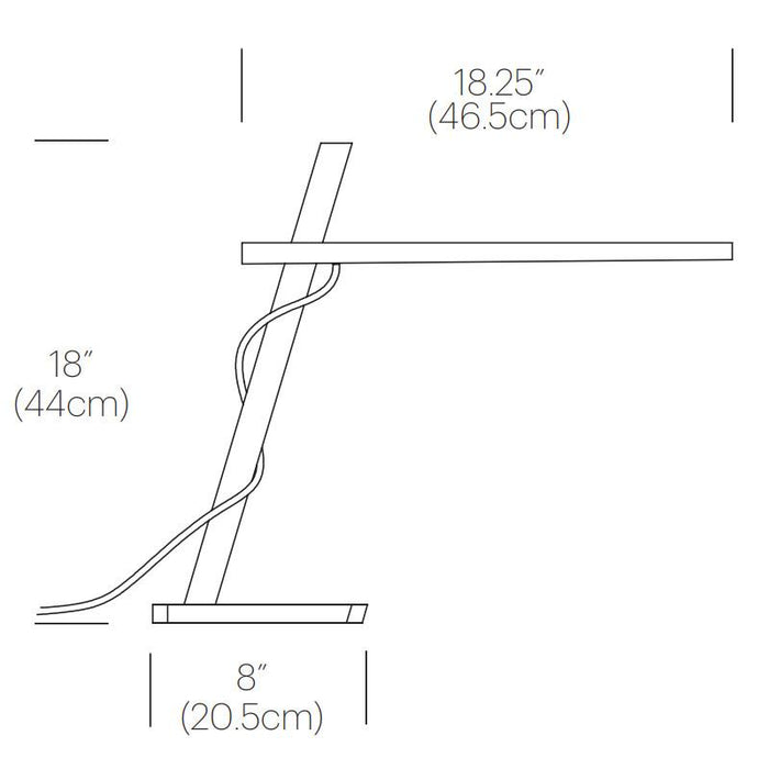 Clamp Mini Table Lamp - Diagram