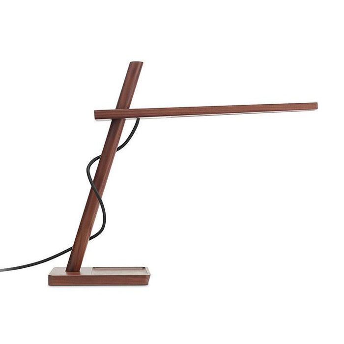 Clamp Mini Table Lamp - Walnut