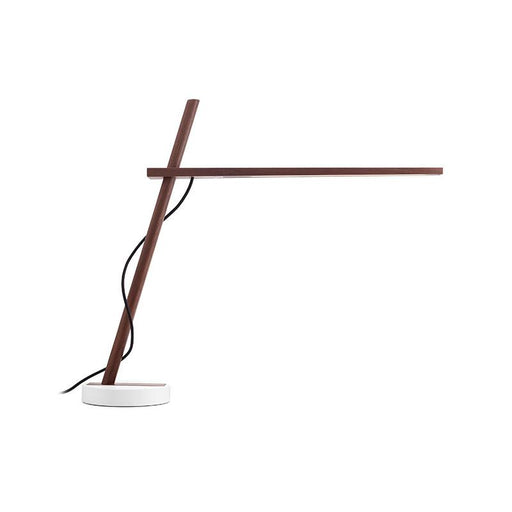 Clamp Table Lamp - Walnut