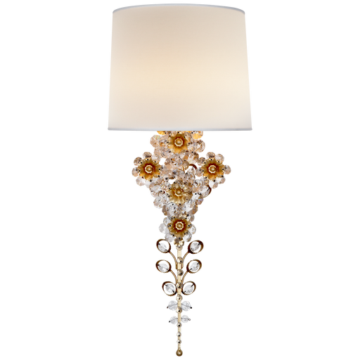 Claret Tail Sconce - Gild Finish