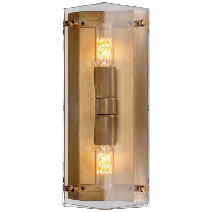 Clayton Wall Sconce - Crystal