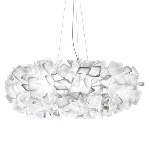 Clizia Large Suspension Light - White Finish
