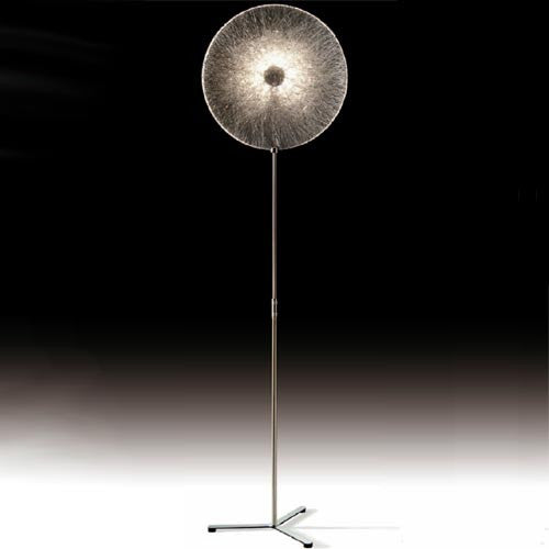 Coco Up Down Floor Lamp - Stainless Steel