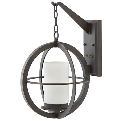 Compass Large Outdoor Wall Light - Oiled Rubbed Bronze