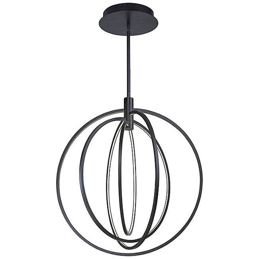 Concentric LED Pendant - Bronze