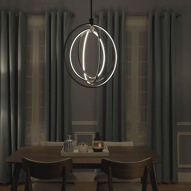 Concentric LED Pendant - Display