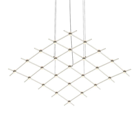 Constellation Aquarius Medius Chandelier - White