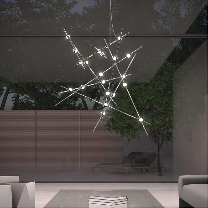 Constellation Aquila Major Chandelier Display