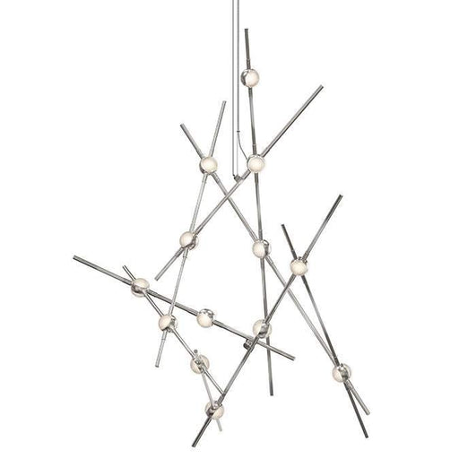 Constellation Aquila Minor Chandelier - Clear Glass