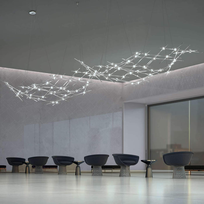 Constellation Ursa Major Chandelier - Display