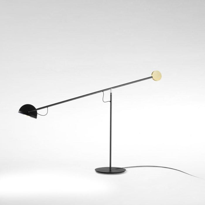 Copernica M LED Table Lamp - Graphite/Black/Gold Finish