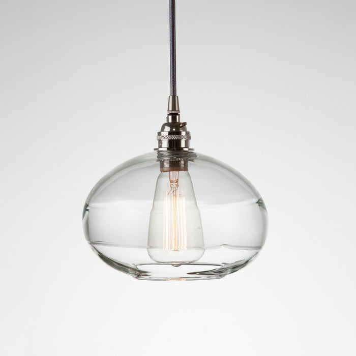 Coppa Multipoint Pendant Light - Metallic Beige Silver/Optic Clear