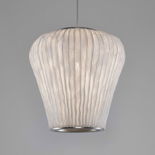 Coral Cay Pendant - White Finish