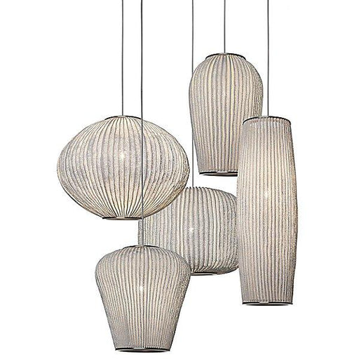 Coral Multi-Light Pendant - White Finish