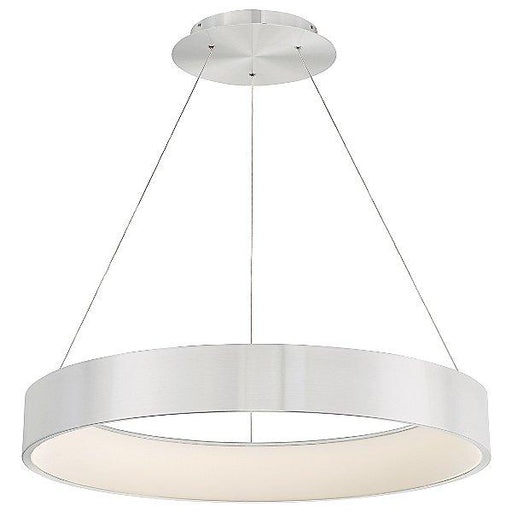 "Corso 32"" LED Pendant Light - Brushed Aluminum"