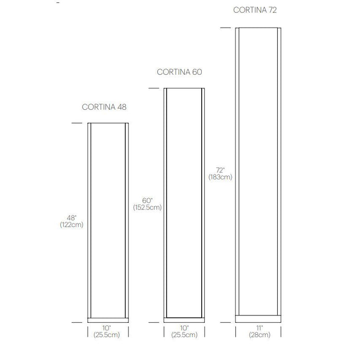 Cortina Floor Lamp - Diagram