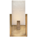 Covet Short Clip Bath Sconce - Antique Burnished Brass